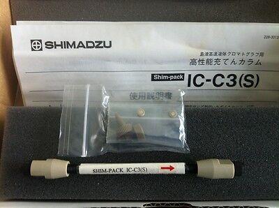 Shimadzu Lc Column Shim Pack Ic-c3 S  Pn228-33367-91 New