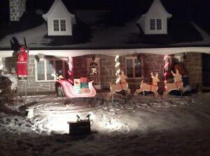 Décoration Noël extérieur