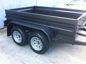 NEW DUAL AXLE HIGH SIDED TRAILER INCLUDING 1YR / WARRANTY