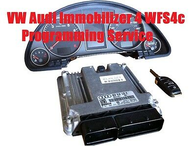 Audi VW Immobilizer Version 4 WFS4c (2005-2010) Programming Synchronization