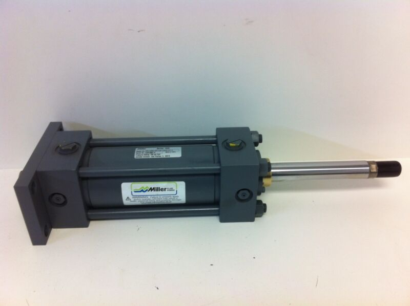 NEW MILLER HYDRAULIC CYLINDER DHV2-61BX2B-02.50-5.000-01000100-S11T-9 700PSI