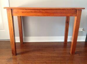 Timber Desk Hamilton Newcastle Area Preview