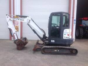 Bobcat E35 Excavator Heatherbrae Port Stephens Area Preview