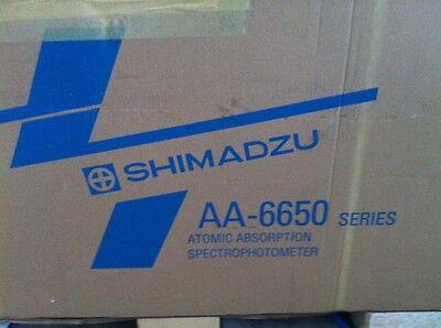 Shimadzu Aa - 6650 Atomic Absorption Spectrophotometer New