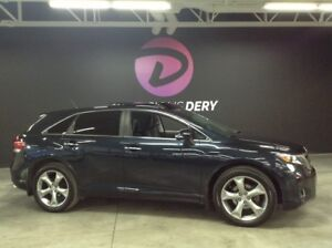 2014 Toyota Venza LIMITED V6 AWD toit panoramique cuir navigatio