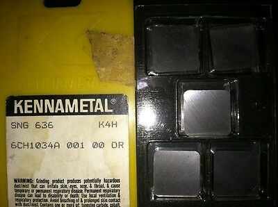 Kennametal Sng 636 K4h Carbide Inserts - Box Of 5