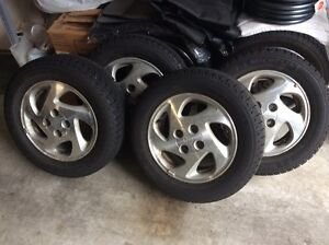 4 Michelin X-Ice Winters with Toyota 4 Bolt Mag/Rims