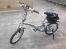 Electric Folding Bicycle Melbourne Region Preview