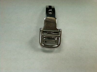 Authentic Cartier 18K White Gold 12 mm Deployment Buckle Clasp