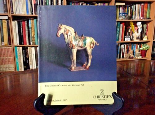 Christie's Auction Catalog NY: Fine Chinese Ceramics and Works of Art 1985 PB