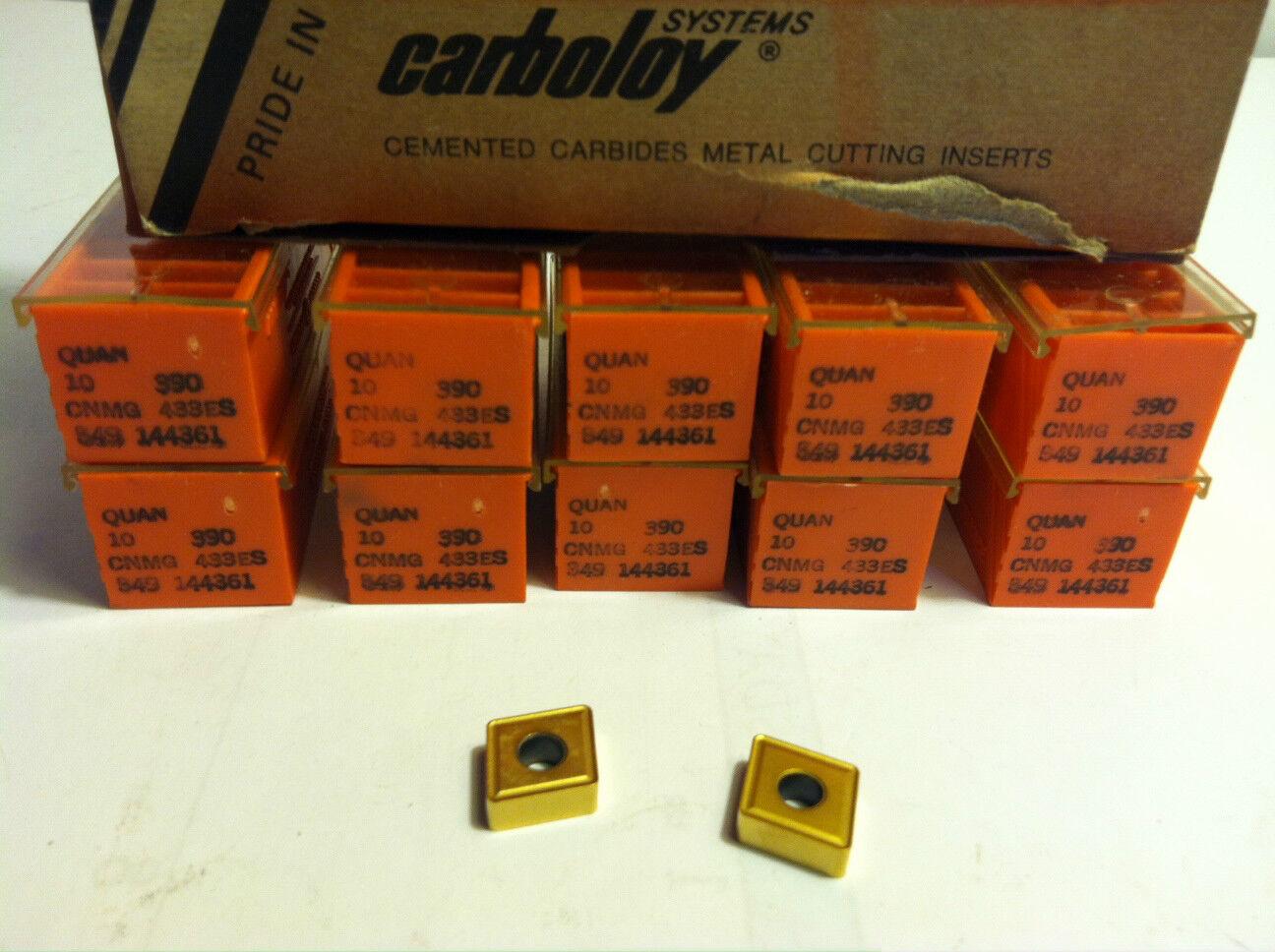 New 10pcs Tnmp 433 Tin Coated Carbide