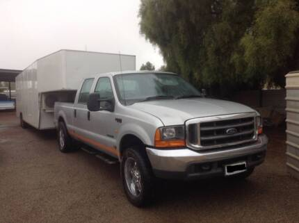 Ford F250 and enclosed car trailer package Port Pirie Port Pirie City Preview