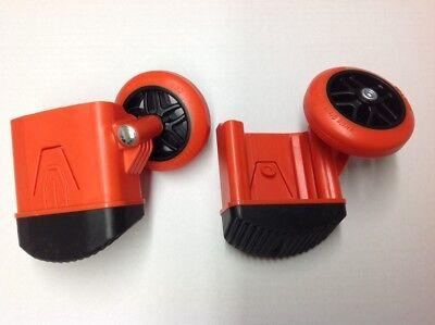 Wheel Foot Kit - Dark Horse And Fiberglass Select Step Little Giant Ladders Feet