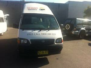 Toyota Hiace Ex rental 5 Person Campervan for Sale - Sydney Woolloomooloo Inner Sydney Preview