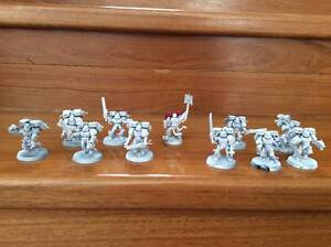 Warhammer 40k Blood Angels Death Company and Chaplain Scarborough Stirling Area Preview