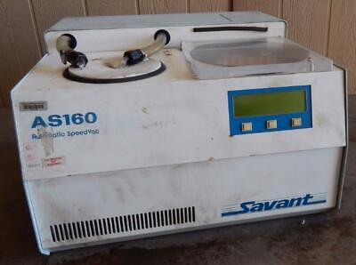 Savant As160 As 160 Automatic Speedvac Concentrator Cold Trap Wrotor 3155