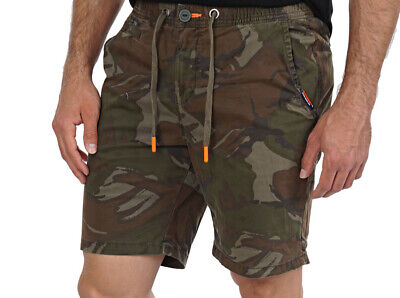 Superdry Men's Sunscorched Camo Shorts M71011GT Forest Outline Camo Sizes 34,36