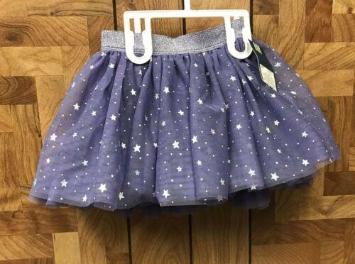 Girls Genuine Kids From Oshkosh Purple Stars Tutu/Skirt 3T