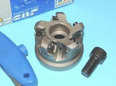 Iscar Helido 2.50 Indexable Face Mill Coolant Fed Mf Fwx D2.50-05-1.00-08
