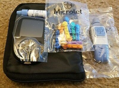 Contour Next Glucometer Starting Kit  New