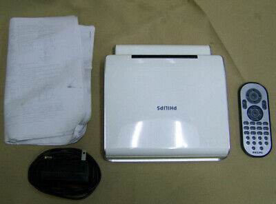 """Philips PET724 Portable DVD Player LCD w/ Remote 7"""" AV in monitor"""