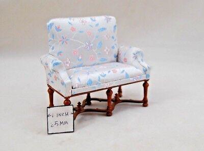 Viktorianisch Sofa - Holz T0834 Miniatur Puppenhaus Möbel 1 Stk. 1/12 Maßstab - Viktorianischen Sofa