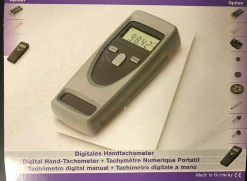 New CDT-2000HD-N Handheld Tachometer (Made in Germany)