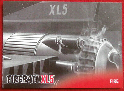 FIREBALL XL5 - Base Card #40 - FIRE - Gerry Anderson - 2017