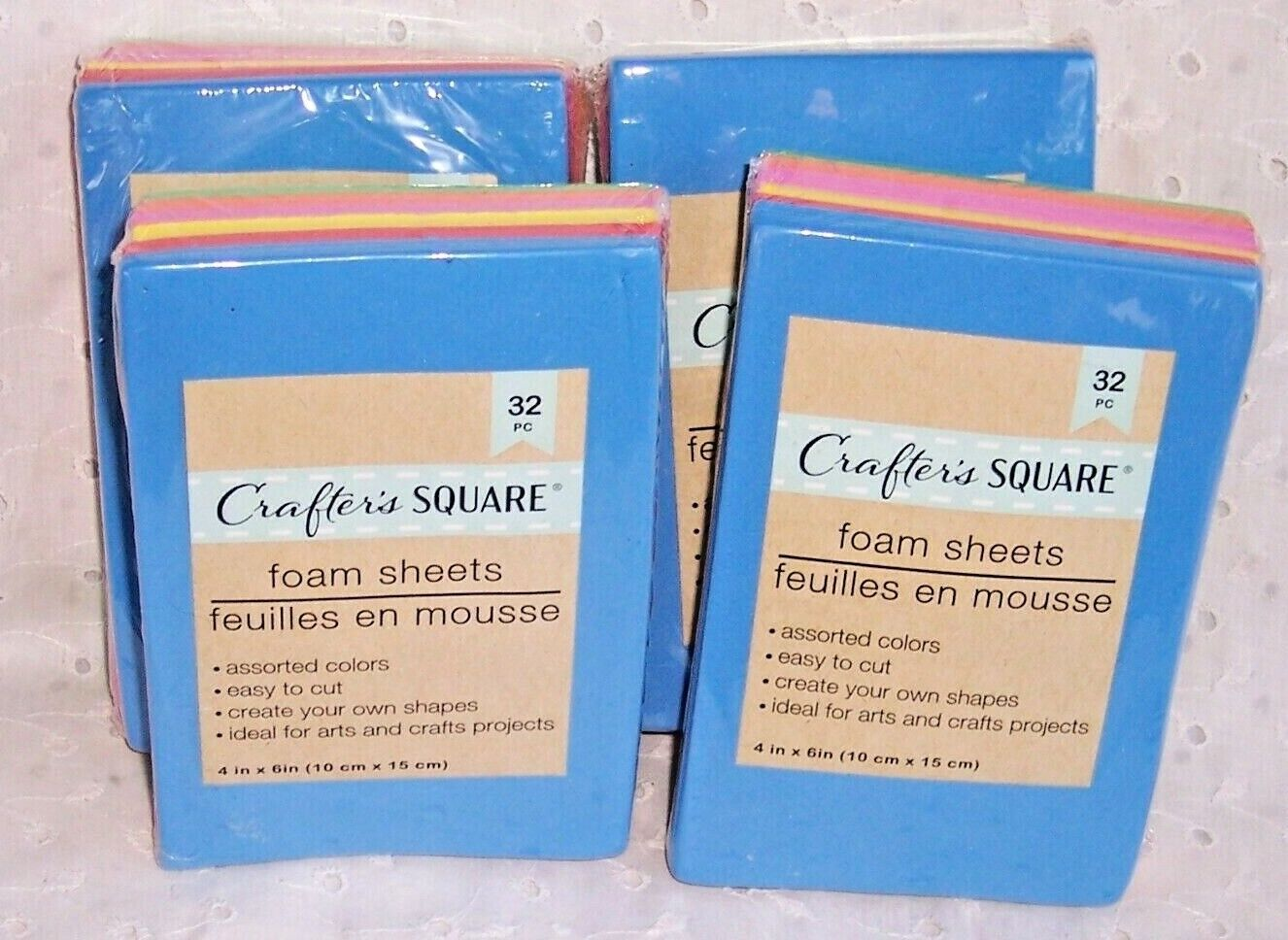 crafter s square foam sheets 32 pc