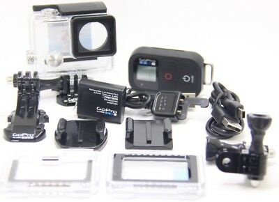 GoPro WiFi Remote,HERO4 Housing, Battery and sticky mounts - 100% Original