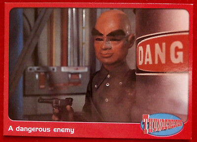 THUNDERBIRDS - A Dangerous Enemy - Card #48 - Cards Inc 2001