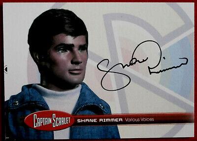 CAPTAIN SCARLET - SHANE RIMMER (Various Voices) - Autograph Card