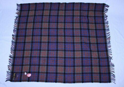 Rare Heather Isle Scottish VTG Wool Winter Blanket Throw Rug Shawl Lap Hebridean