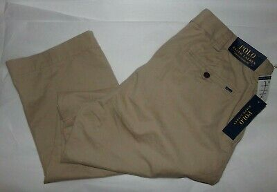 NWT Polo Ralph Lauren Mens Chinos Classic Fit STRETCH Pants~34X32