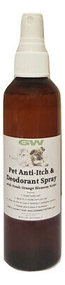 Dog Deodorant (NEW! GW Dog Cologne Anti-Itch & Deodorant Spray For Dogs and Cats Orange Blossom )