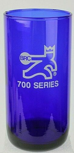 Brunswick BRC 700 Series Cobalt Blue Rec. Center Award Drinking Glass 14 Oz. New
