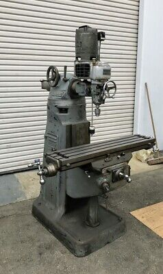 Bridgeport Mill 42 Table Servo Variable Speed-x Axis Powerfeed Mfg In Usa