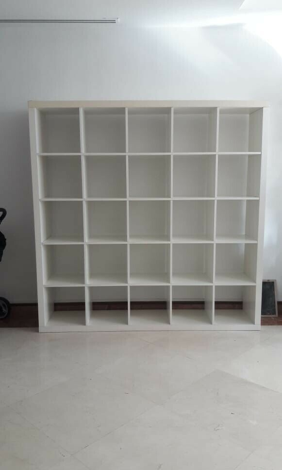 uk availability 5ddfa 8352c IKEA Kallax 5 x 5 5x5 25 Cube W182cm H182cm Shelving Room Divider White  Excellent Victoria, London | in Westminster, London | Gumtree