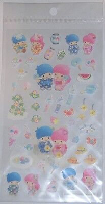 Little Twin Stars in Kimono Stickers from Japan New