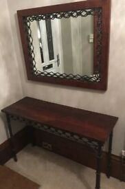 Laura Ashley Chepstow Console Table and Mirror