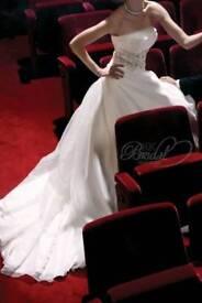 Wedding dress size UK 8 by Justin Alexander