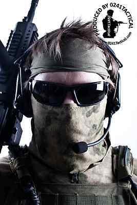 0241 Tactical A-TACS FG Foliage Green Neck Gaiter Wrap UK Seller