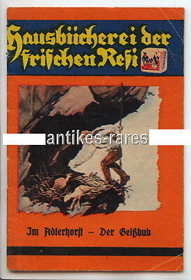 Werbung Hausbücherei Resi, Im Adlerhorst - Der Geißbub