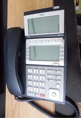 Lot Of 10 Nec Dt300 Series Business Phone With Handset Dlvxdz-ybk