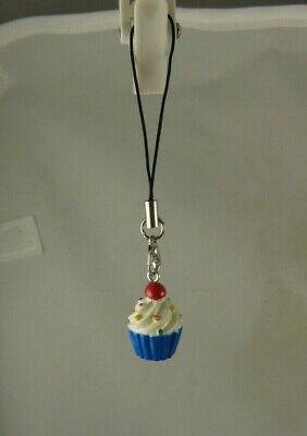 cupcake sprinkles cell phone charm or purse charms Cell Phone Purse Charm