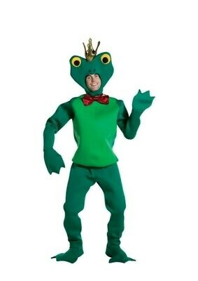 Frog Prince Adult Costume One Size Fits Most goeswith Princess and the Frog
