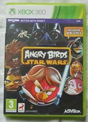 """""""Angry Birds Star Wars"""" Microsoft Xbox360 Video Game"""