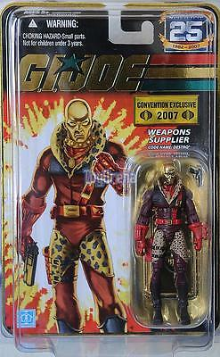 GI Joe SDCC Destro Gold Head PDD GEM Cobra Iron Grenadier G.I. Joe Hasbro