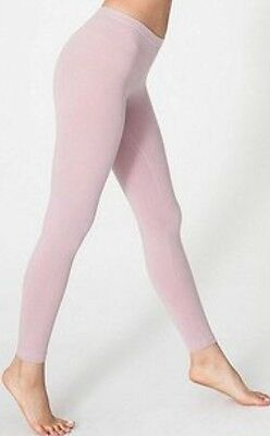 American Apparel Cotton Spandex Jersey Legging Warehouse Light Pink XS 8328 NEW Cotton Spandex Jersey Legging