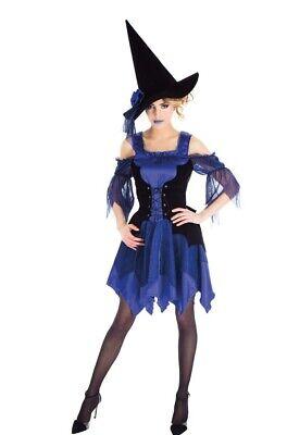 Laguna-Blue Hexe Damenkostüm NEU - Damen Karneval Fasching - Laguna Blue Kostüme
